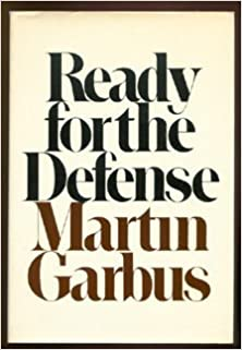 Martin Garbus books read for defense